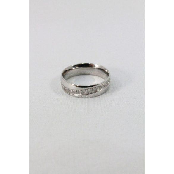 Nemesacél karikagyűrű M3, női