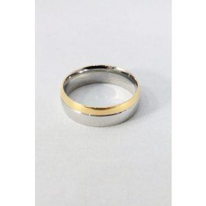 Nemesacél karikagyűrű M1, férfi