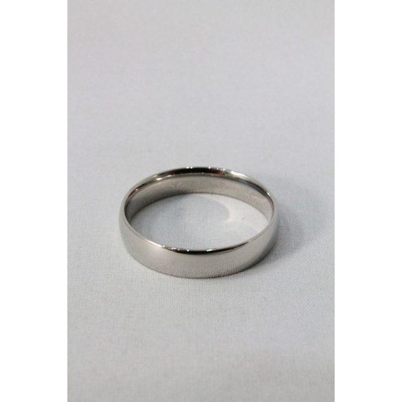 Nemesacél karikagyűrű M4, férfi