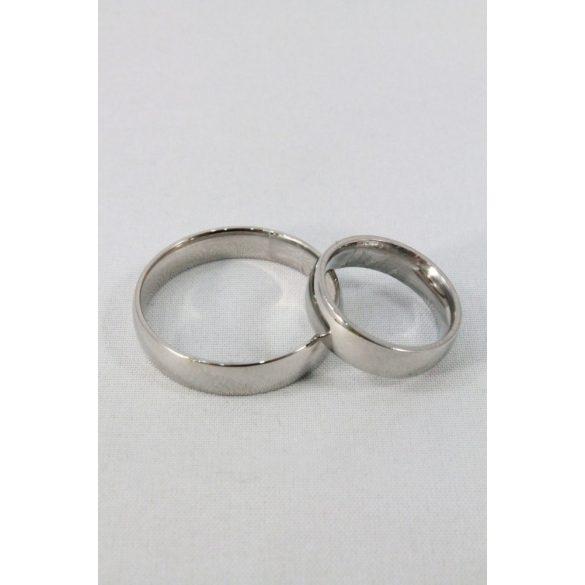 Nemesacél karikagyűrű M4, női