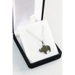 Nemesacél Elefánt nyakék, 20mm