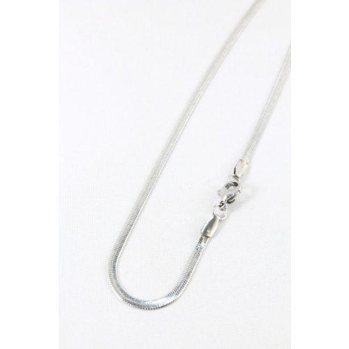 Nemesacél Halszálka nyaklánc, 50cm/2,5mm