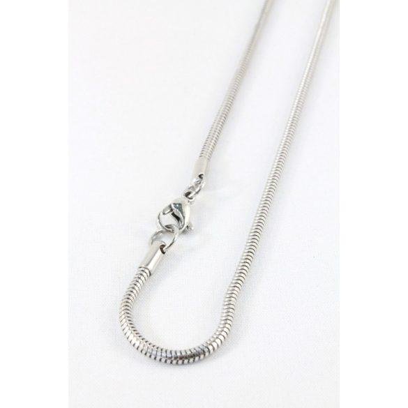 Nemesacél Kígyó nyaklánc, 2,5mm