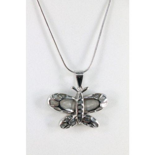 Nemesacél Pillangó nyakék