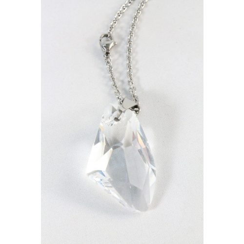 Nemesacél Swarovski kristályos Amorf forma, 39